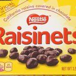 Box of Raisinets candy.